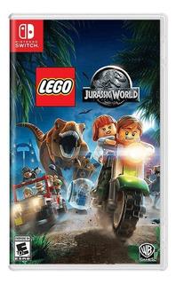 Lego Jurassic World Switch Mídia Física Pronta Entrega