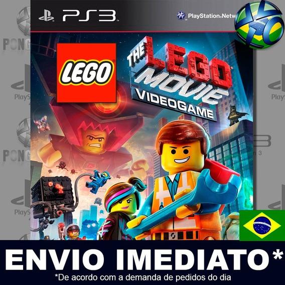 The Lego Movie Videogame Ps3 Psn Jogo Em Promoção Play 3