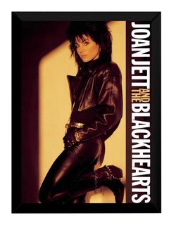 Quadro Joan Jett And The Blackhearts Capa Album 42x29