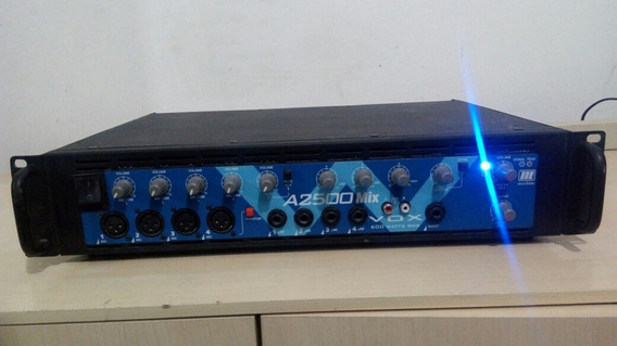 Amplificador De Potencia Machine A2500 Mix