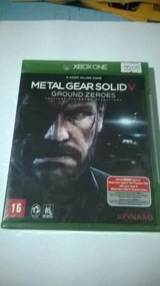 Metal Gear Solid V Ground Zeroes Xbox One Novo Lacrado