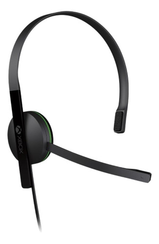 Auriculares gamer Microsoft Xbox One Chat black