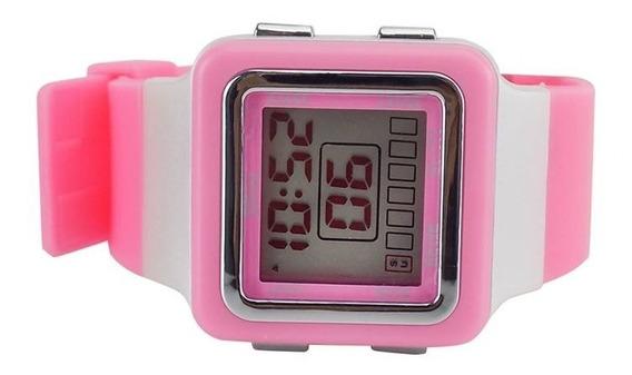 Relógio Digital Sport Feminino Alarme 100% Funcional