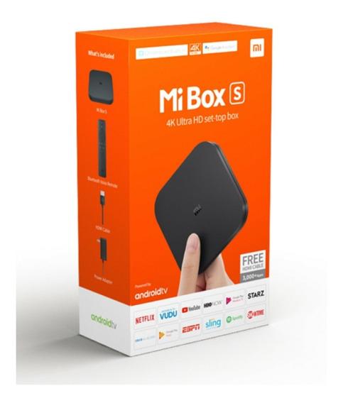 Tv Box Xiaomi Mi Box S Ultra Hd 4k Android Tv 8.1