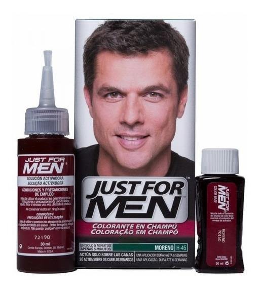 Just For Men Tintura En Shampoo Para Cabello Cubre Canas