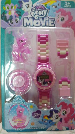 Relógio Unicórnio Infantil Digital + Boneco