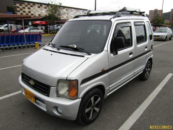 Chevrolet Wagon R Plus Mt 1200cc Aa 4x2