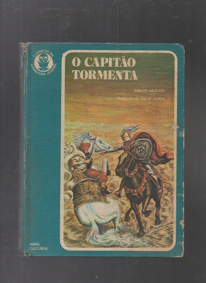Livro O Capitão Tormenta- Emílio Salgari