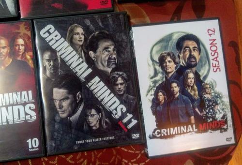 Mentes Criminales Temporadas 1 A La 12 En Dvd Mercado Libre