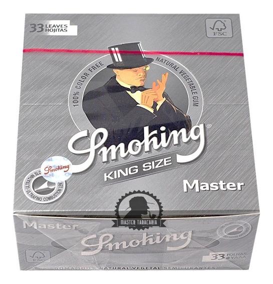 Seda Smoking Prata King Size Original Frete Grátis + Brinde!