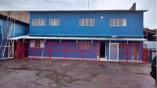 Barracão Comercial Para Locação, Jardim Santana, Hortolândia. - Ba0340