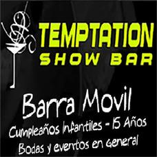 Barra Movil Temptation Fiestas Eventos Cumpleaños