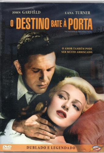 Imagem 1 de 2 de Dvd O Destino Bate A Porta - Classicline - Bonellihq N20