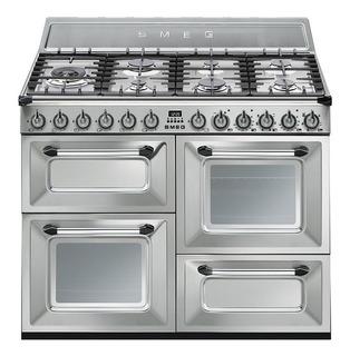 Cocina Smeg Mixta 110 Cm - Gtia Oficial