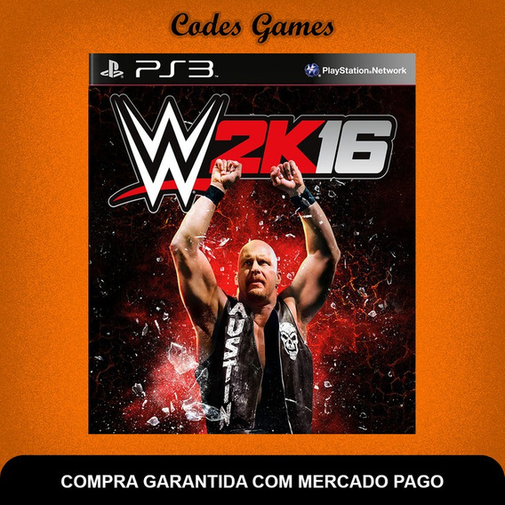 Wwe 2k16 - Ps3 - Pronta Entrega