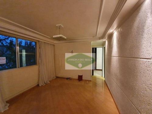 Apartamento Com 2 Dormitórios À Venda, - Parque Guarapiranga - São Paulo/sp - Ap3459