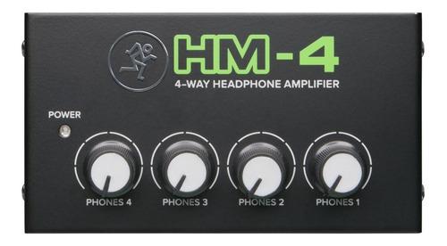 Amplificador De Auriculares Mackie Hm-4 4 Canales - Oddity
