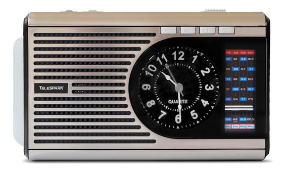 Radio Port Mp3 Telespark Clock Si