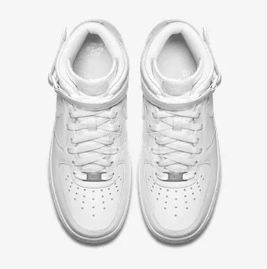 Tênis Nike Air Force 1 Mid 07 Branco Original