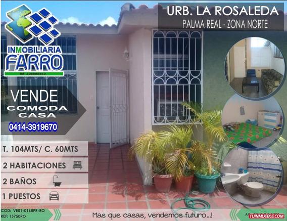 Venta De Casa En Palma Real Ve01-0168pr-ro