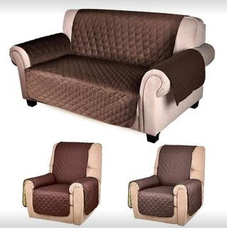 Set De Cobertores Para Sofa Living 3 Cubre Sillones