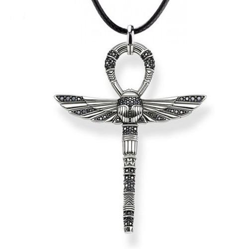 Colar Egito Pingente O Nó De Ísis, Tyet Amuleto Egito