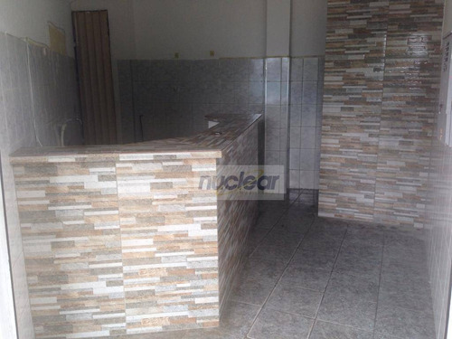 Salão Para Alugar, 14 M² Por R$ 500,00/mês - São Mateus - São Paulo/sp - Sl0227