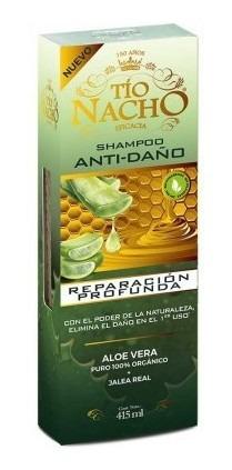 Tio Nacho Shampoo Reparación Profunda Aloe Vera X 415 Ml