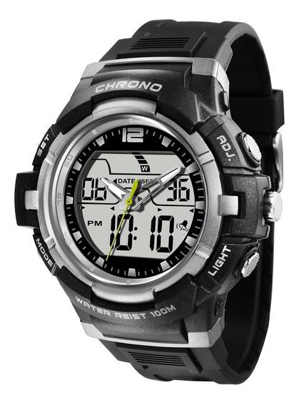 Relógio Masculino X-games Xmppa202 Bxpx Preto