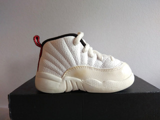 Air Jordan Retro 12 White University 12 Cm