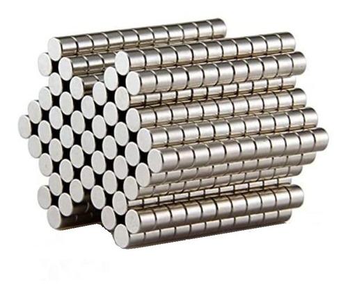 Iman De Neodimio 25 Unidades Muy Potente Cilindro 8x3mm