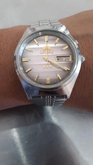 Reloj Pulsera Orient 3 Starts 21 Jewels