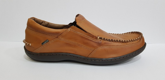 Zapato Hombre Nautico Cuero Careva 3020 Whi (talle Especial)