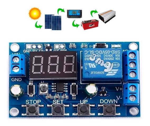 Placa Controladora Sistema Solar Bateria Automático Relé M3