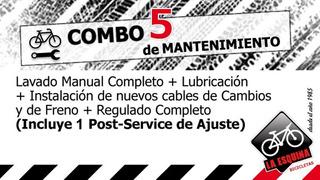 Servicio De Mecánica Para Bicicleta - Combo 5