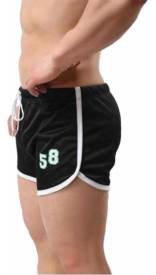 Gym Shorts Hombre Cortos Sexy De Moda ,short Ejercicio Playa