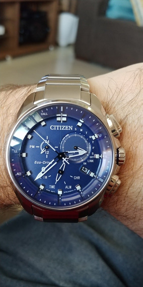 Citizen Proximity Pryzm Bluetooth Blue Solar Bz1021-54l