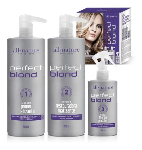 Perfect Blond - Ultra Tratamento All Nature