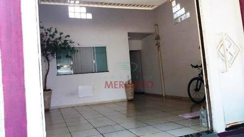 Casa Com 2 Dormitórios À Venda, 82 M² Por R$ 230.000,00 - Parque Roosevelt - Bauru/sp - Ca3212