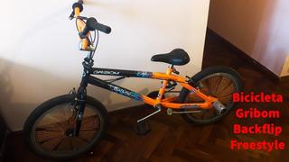 Bicicleta Gribom Backflip Freestyle Rodado 20
