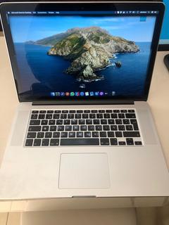 Macbook Pro - 15 PuLG - 512gb Ssd - 16gb Ram