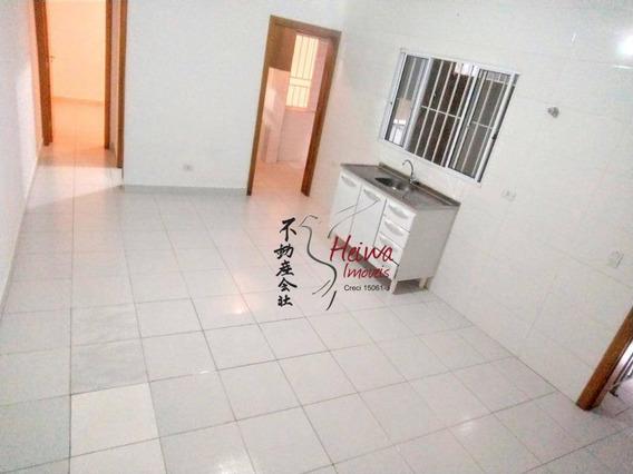 Casa Com 1 Dormitório Para Alugar, 40 M² Por R$ 700/mês - Jardim São João (jaraguá) - São Paulo/sp - Ca0938
