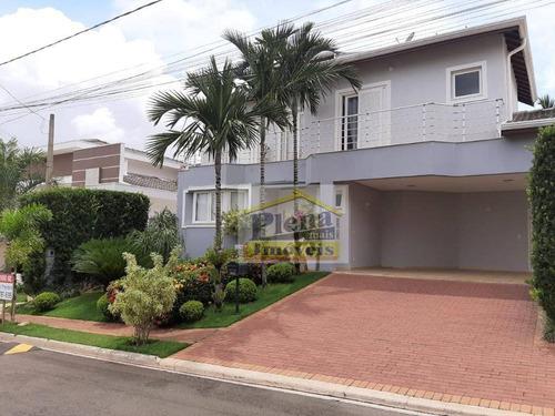 Casa Com 3 Dormitórios À Venda, 259 M² Por R$ 1.450.000,00 - Jardim Green Park Residence - Hortolândia/sp - Ca4177