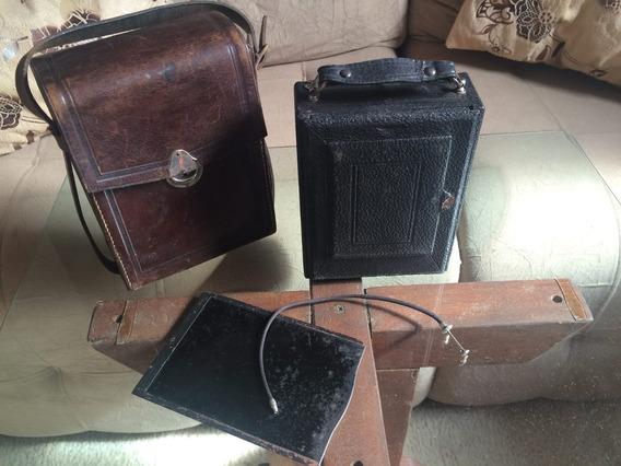Maquina Fotográfica Alemã Antiga (colecionador)
