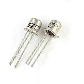 Transistor 2n2222a St 12x Un