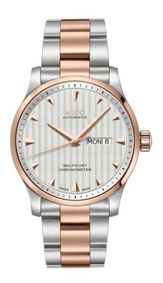 Reloj Mido M0054312203100 Para Caballero Ext De Acero