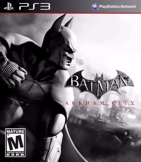 Batman Arkham City Digital Ps3 Latino
