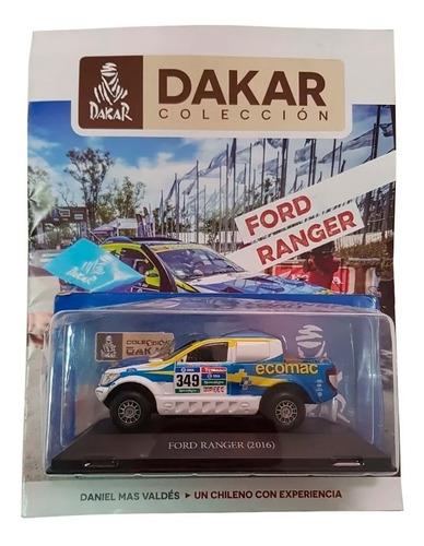 Imagen 1 de 5 de Libro Coleccion Dakar Ford Ranger 2016