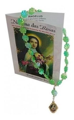10 Terço Com Oração Santa Terezinha Novena Das Rosas
