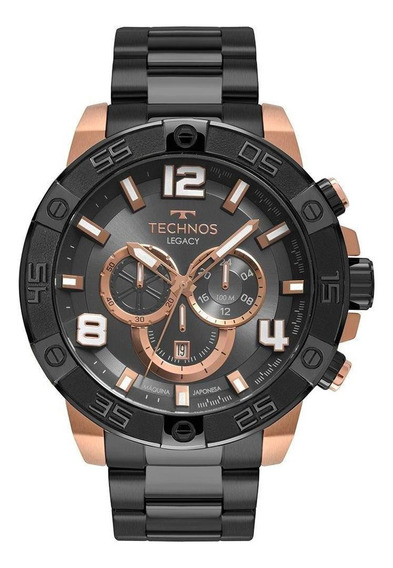 Relógio Technos Masculino Legacy Preto Os2abp4c